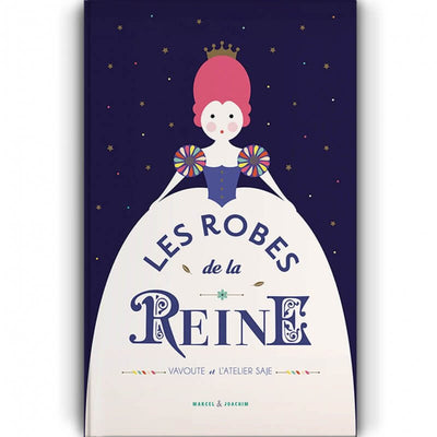 Children book - Les robes de la reine