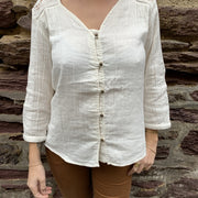 Patchouli shirt - Cream