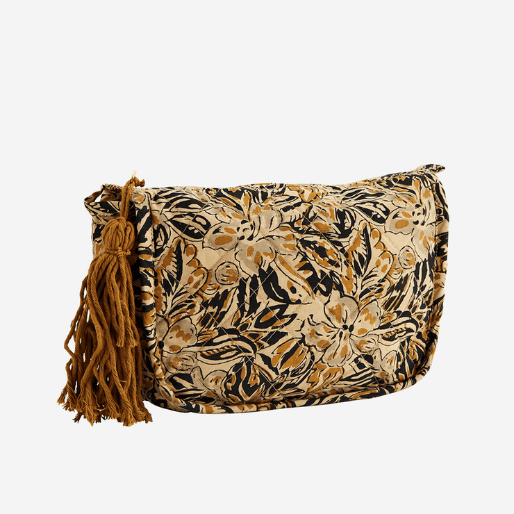 Toiletry bag - Sand, mustard and black