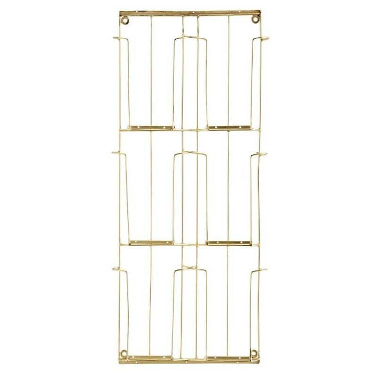 Card rack - Gold