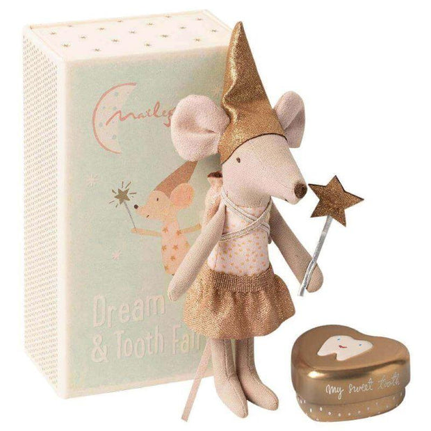 MAILEG - Tooth fairy mouse in match box