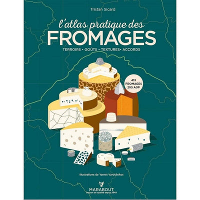 MARABOUT EDITIONS - French book about cheese