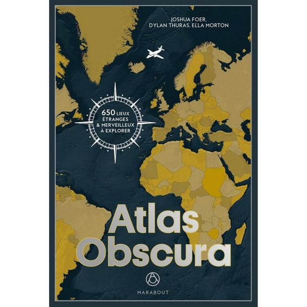 MARABOUT EDITIONS - Atlas Obscura - French book about strange places around the world