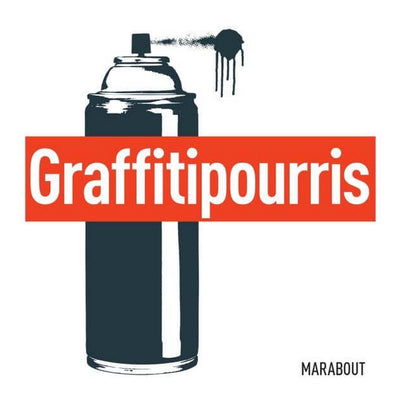 MARABOUT EDITION - Graffitipourris book about street art - French
