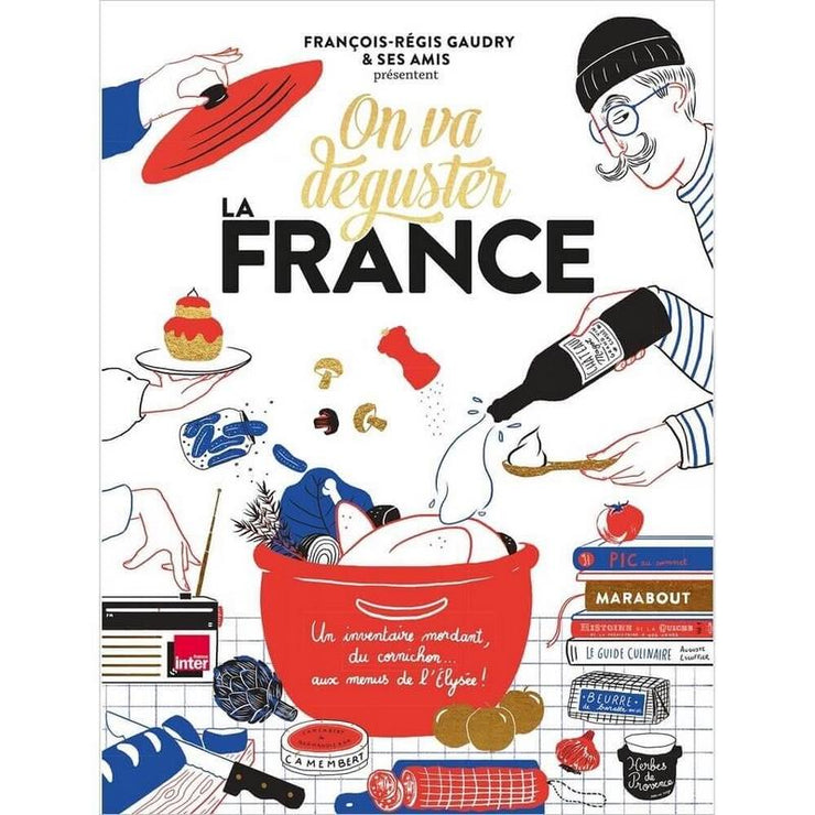 MARABOUT EDITIONS - On va déguster la France  cooking book in French