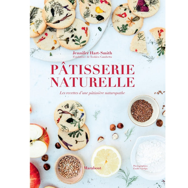 """Pâtisserie naturelle"" book"