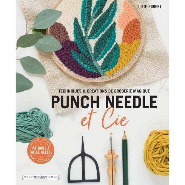 MARABOUT - Punch needle techniques book in French