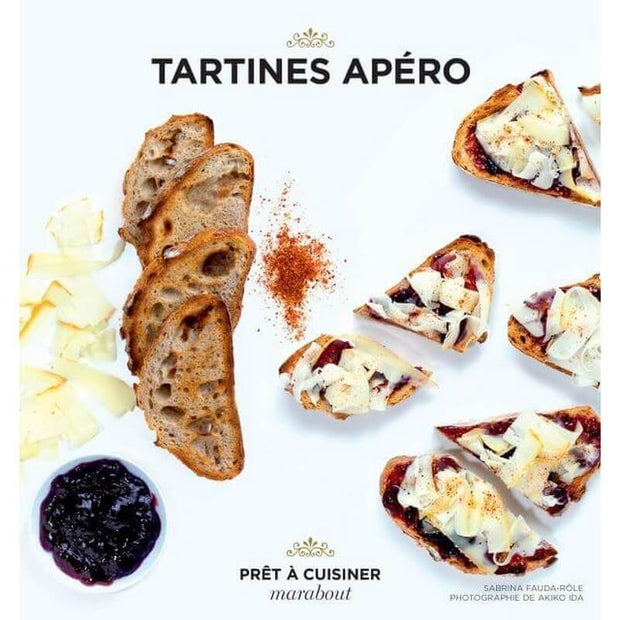 """Tartines apéro"" book"