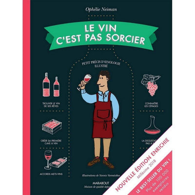 MARABOUT EDITION - Book in French about wine