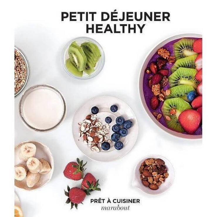 "MARABOUT - french editions - recipe book for healthy breakfast - ""petit-déjeuner healthy"" book"