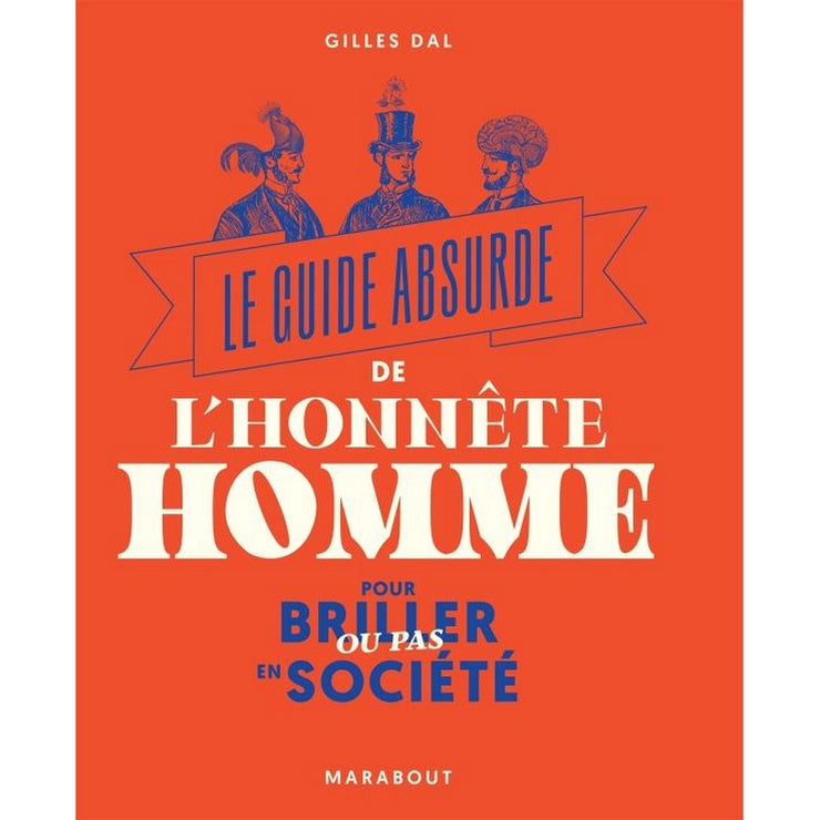 "MARABOUT EDITIONS - ""Le guide absurde de l'honnête homme"" book in French"