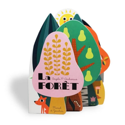 MARCEL & JOACHIM - Illustrated baby book - La Forêt