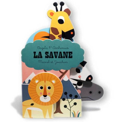 MARCEL & JOACHIM - Illustrated baby book - La Savane