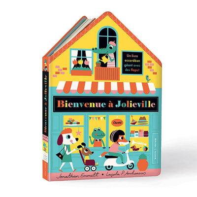 MARCEL & JOACHIM - Illustrated book - Bienvenue à Jolieville