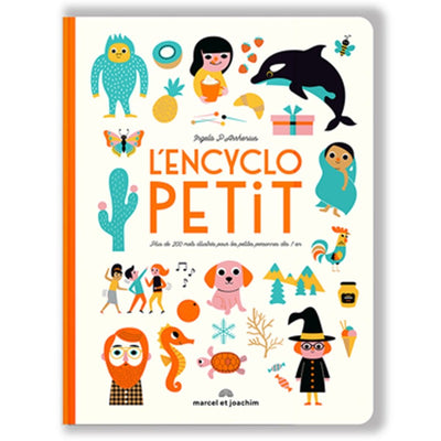 MARCEL & JOACHIM - Illustrated book - L'Encyclopetit