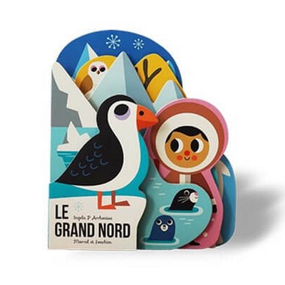 MARCEL & JOACHIM - Illustrated baby book - Le Grand Nord