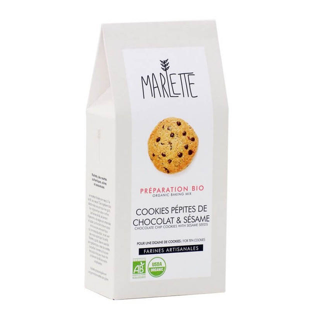 MARLETTE - Organic chocolate chips cookies baking mix