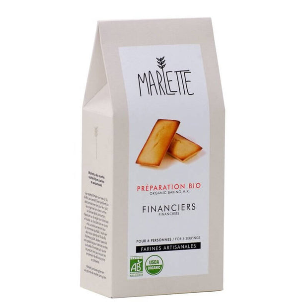 MARLETTE - Organic financiers baking mix - Almond cakes