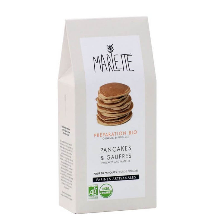 MARLETTE - Organic pancakes and waffles baking mix
