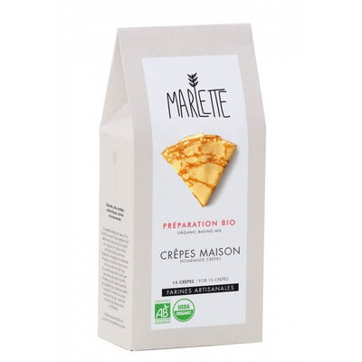 MARLETTE - Organic homemade crepes mix