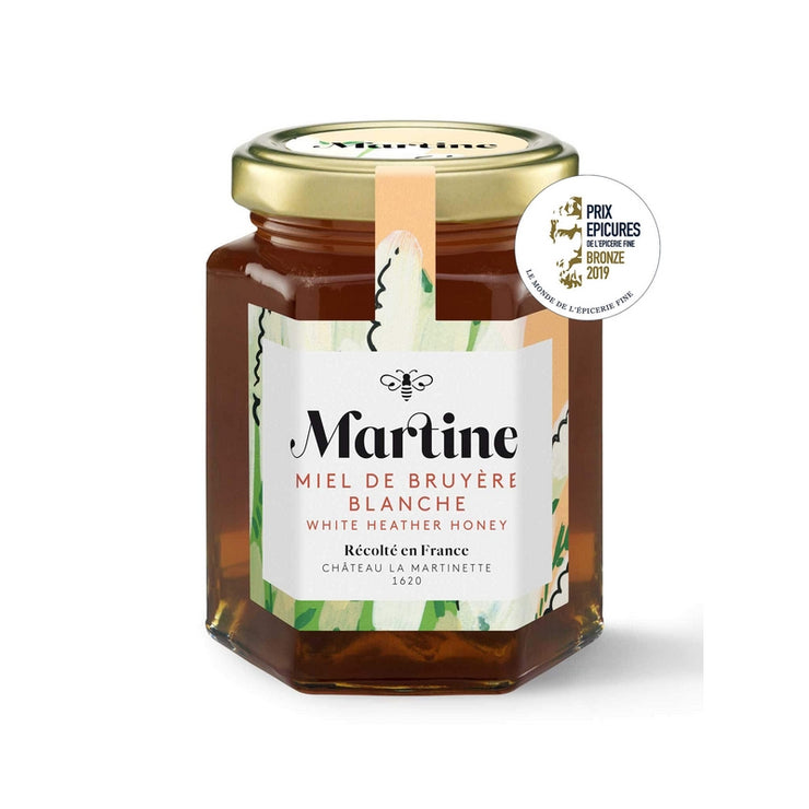 MIEL MARTINE - Heather honey harvested in France