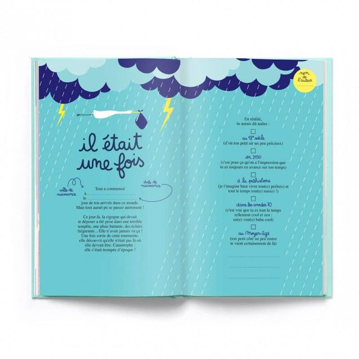 MINUS EDITIONS - Birthday booklet in French - Happy birthday to you - Inside
