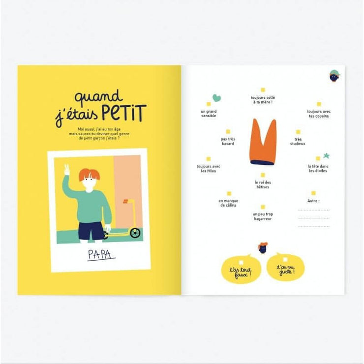 MINUS EDITIONS - Like father like son booklet in French - Gift idea