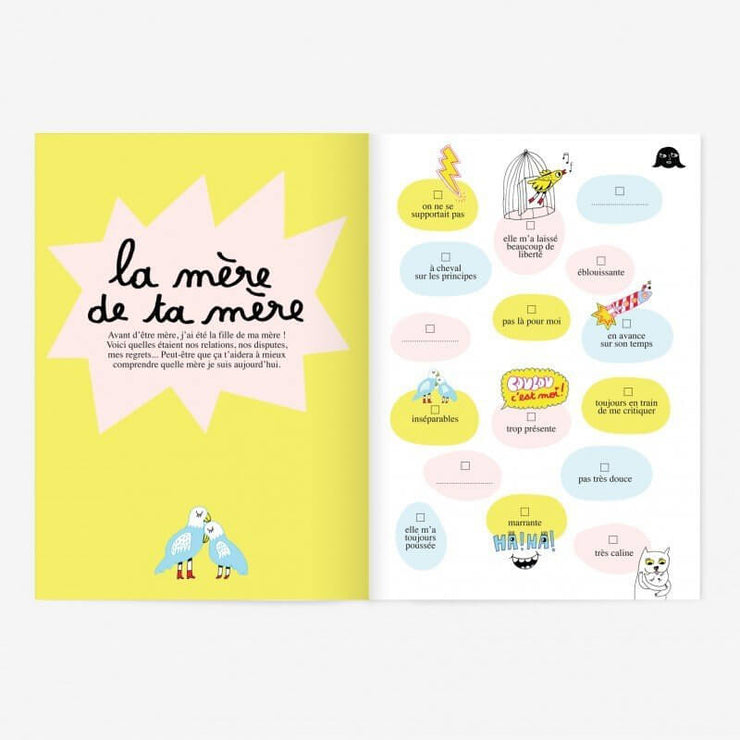 MINUS EDITIONS - Like mother like daughter booklet - French - Activities