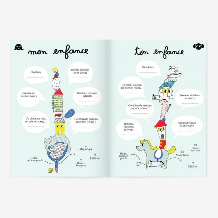 MINUS EDITIONS - Like mother like daughter booklet - French - Inside