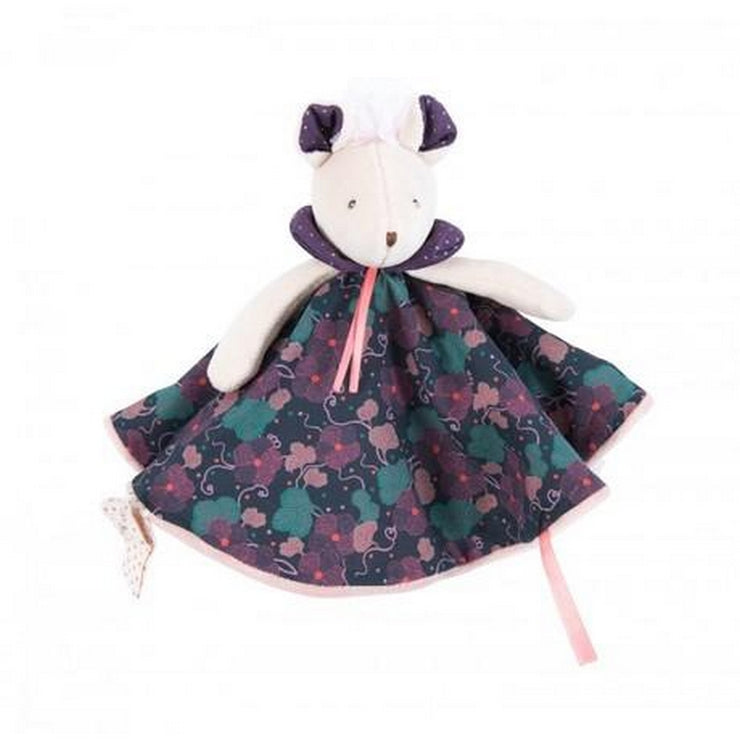 Purple mouse soft toy