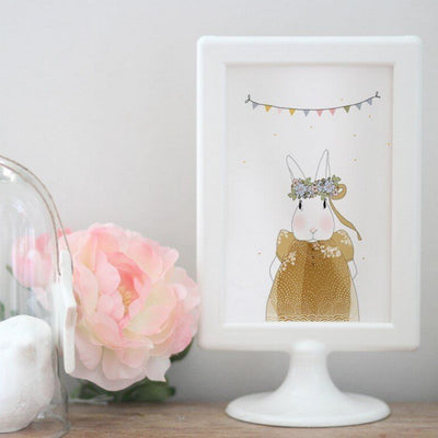 MY LOVELY THING - Joséphine the rabbit greeting card