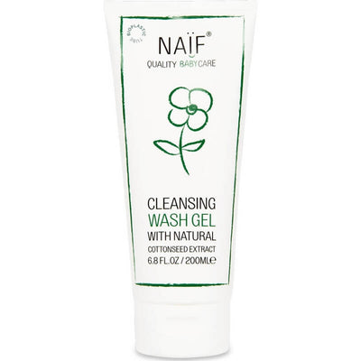 NAIF - Baby cleansing wash gel - Natural cosmetics for babies
