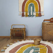 Children rug - Rainbow