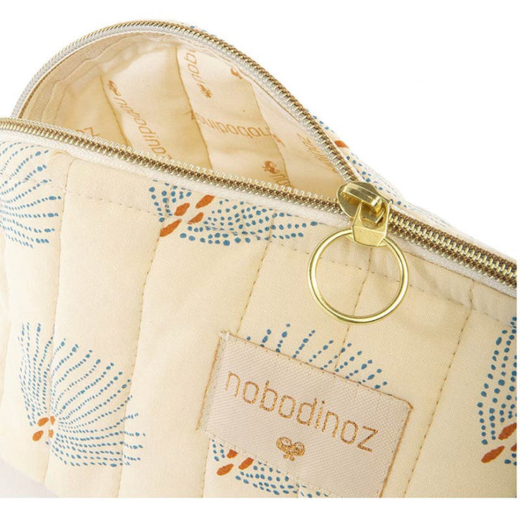 NOBODINOZ - Holiday case - Blue Gatsby / Cream - Details