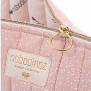 NOBODINOZ - Holiday case - White bubble / Misty pink - Details