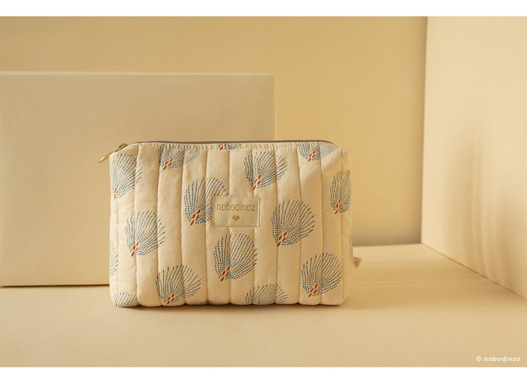 NOBODINOZ - Travel case - Blue Gatsby / Cream - Scene