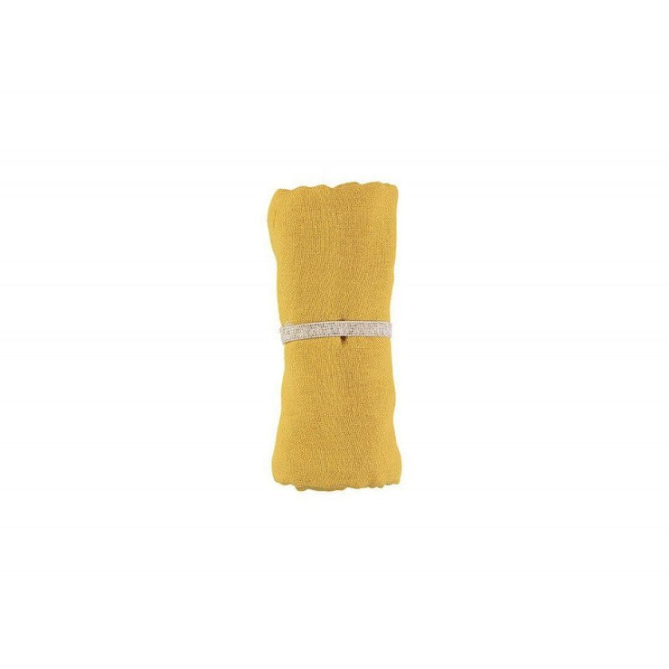 NOBODINOZ - Organic cotton swaddle - Farniente Yellow