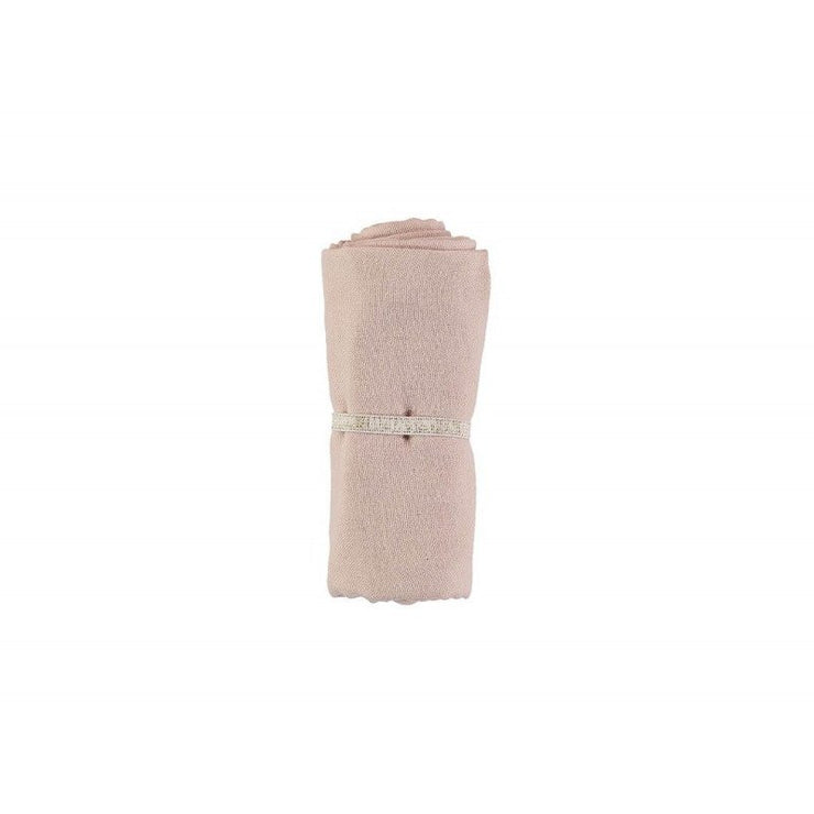 NOBODINOZ - Organic cotton swaddle - Dream Pink