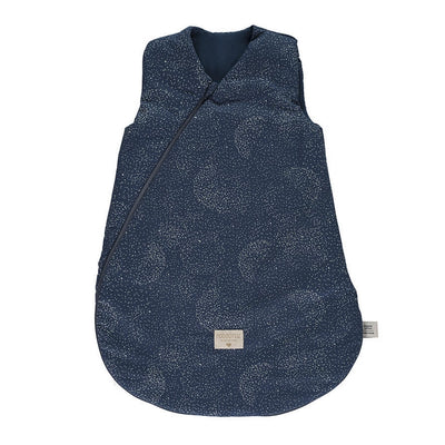 NOBODINOZ - Cocoon sleeping bag - Night Blue - Organic cotton