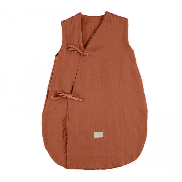 NOBODINOZ - Dreamy sleeping bag - Toffee - Organic cotton
