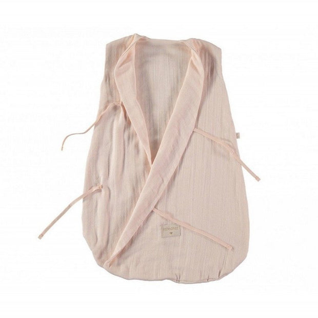 NOBODINOZ - Dreamy sleeping bag - Dream Pink - Organic cotton - Open