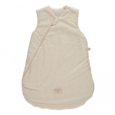 NOBODINOZ - Cocoon sleeping bag - Honey Sweet Dots - Organic cotton