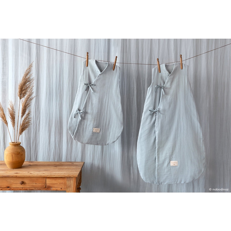 NOBODINOZ - Dreamy sleeping bag - Riviera Blue - Organic cotton - Scene