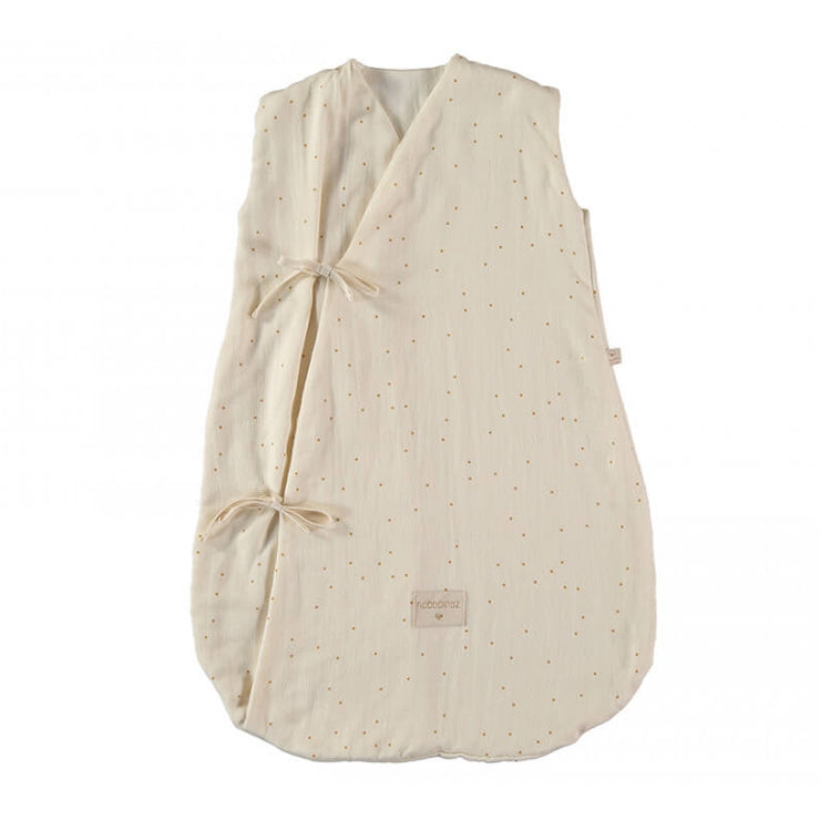 NOBODINOZ - Dreamy sleeping bag - Honey Sweet Dots - Organic cotton
