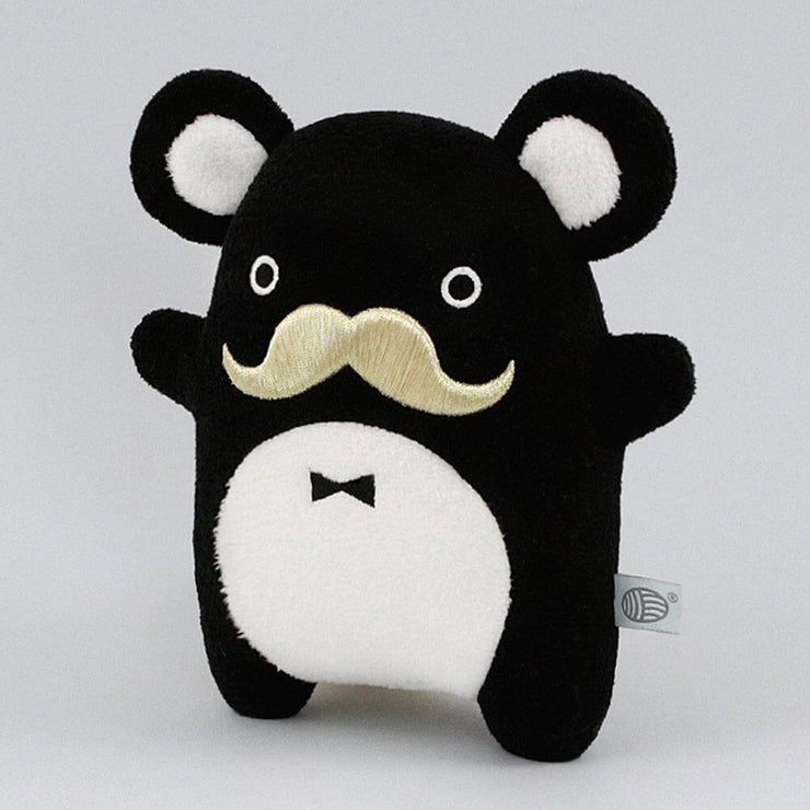 NOODOLL - Ricepapa luxe plush - Black and gold