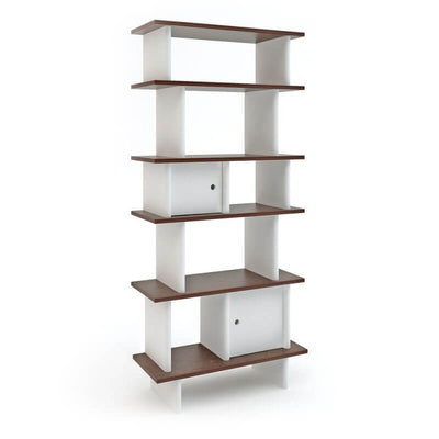 OEUF NYC - Vertical mini library - Walnut