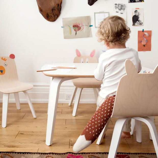 OEUF NYC - Children play table - White - Scene