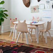 OEUF NYC - Children play table - White scene