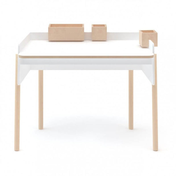 OEUF NYC - Brooklyn desk - White wood