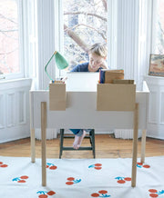 OEUF NYC - Brooklyn desk - White - Scene